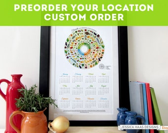 Pick Your Location - Custom Pre-Order