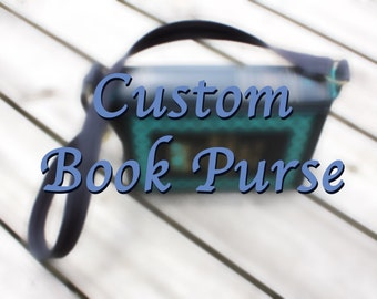Custom Book Purse