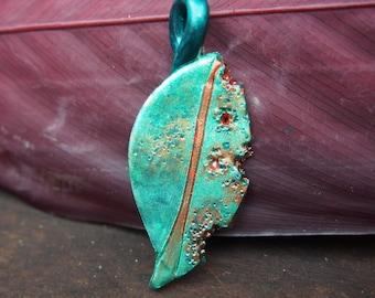 Handmade Leaf Pendant