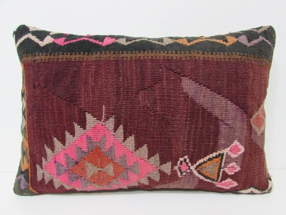 pillow lumbar pillows moroccan pillow sham kilim rug pillow decorative