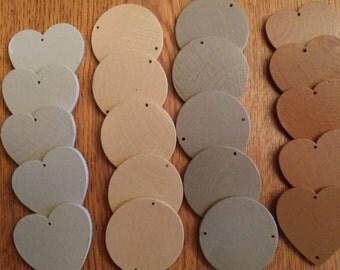 Family Board Circles and Hearts