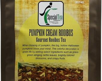 Pumpkin Cream Loose Leaf Rooibos Tea - 20 Tea Bags