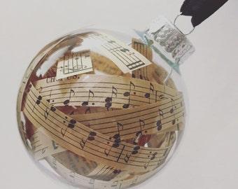 ornament~ vintage sheet music
