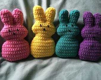 Crochet Peep Bunnies
