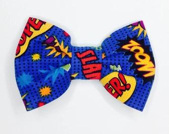 POW!!! BAM!!!! Comic Book Bow Tie