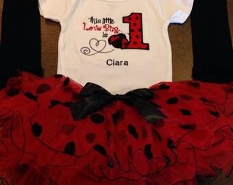 Ladybug Pettiskirt Outfit, ladybug birthday outfit, ladybug, ladybug dress, ladybug tutu, ladybug birthday, ladybug tutu