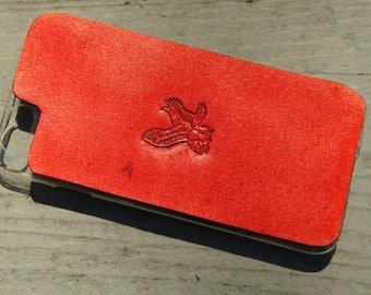 Leather iPhone 6s Case / iPhone 6 Case - Majestic Flying Eagle