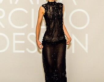 Black dress,  Prom dress, formal dress