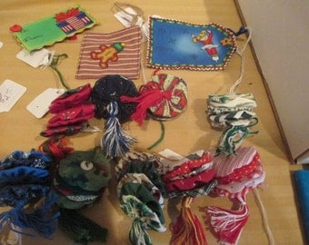 Quilty Christmas Ornaments
