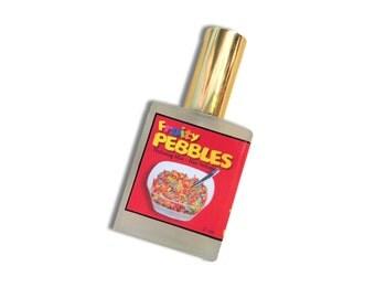Fruity Pebbles Type Hair Perfume - Hair Mist, Argan Hair Milk or Argan Hair Gloss Spray - with Silk Protein and Vitamin B - 2 oz Spray