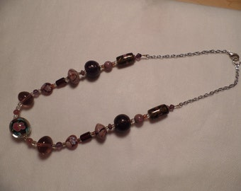 "21"" Dark Purple Necklace"
