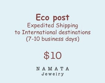 ECO post - Expedited Shipping to International Destinations