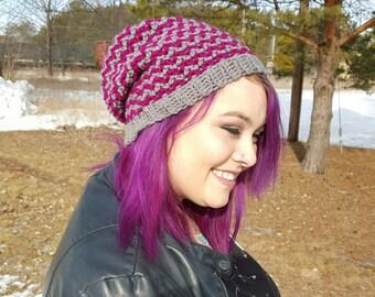 Custom Crochet Slouchy Beanie - Made to Order