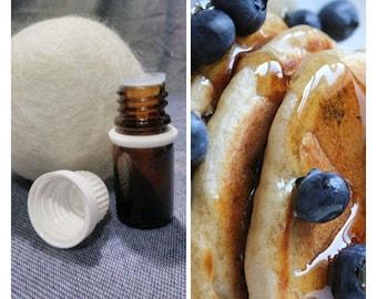 Blueberry Pancake,Wool Dryer Ball Scents,oils,cloth diapers,dryer ball,felted ball,dryer balls set,refill,secret garden,fragrance,laundry