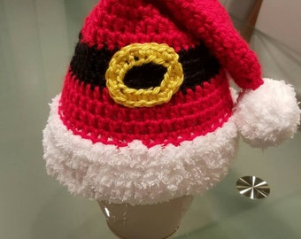 Cute and comfy Christmas Hat! 3 to 9 month size.