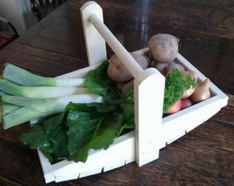 Wooden Garden Trug for garden or allotment