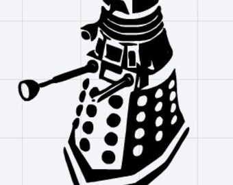 Doctor Who Dalek Decal