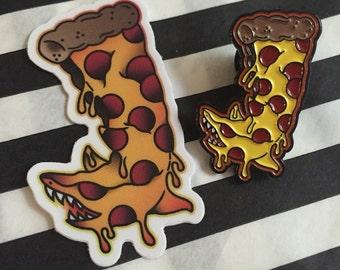 Pizza Shark Enamel Pin (Limited Edition)