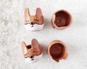 Fox Planter - Animal Planter - Succulent Planter - Fox Decor - Fox Bowl