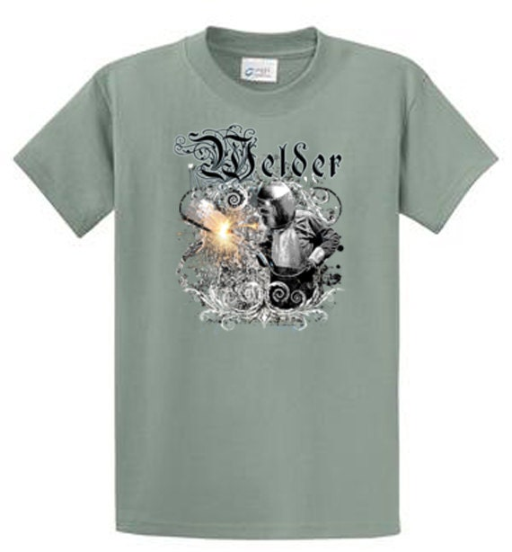 Welder men 39 s graphic tees regular and big and tall sizes for Design your own t shirt big and tall