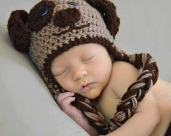 Newborn Crochet Puppy Set