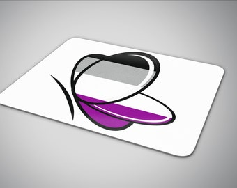 Asexual Butterfly mouse pad