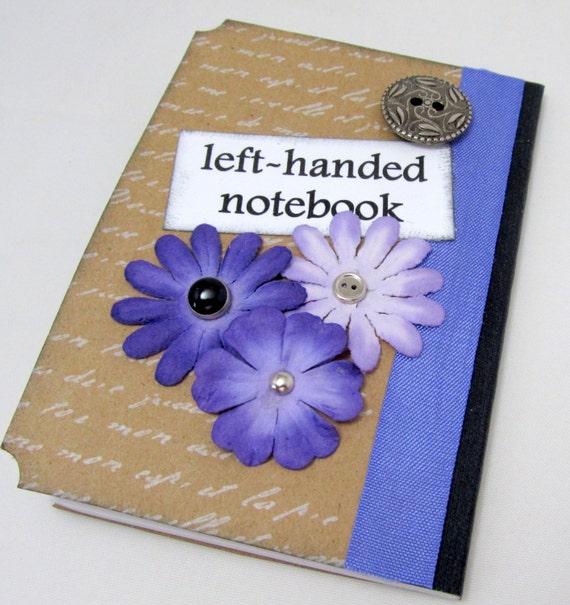 Left Handed Notebook Left Handed Mini Journal Lefty Mini