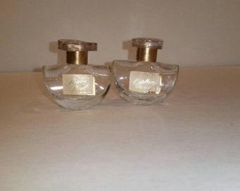Vintage Avon perfume bottles, two