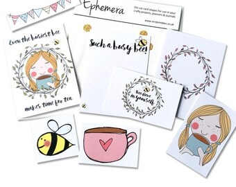 Busy Bee Ephemera Pack