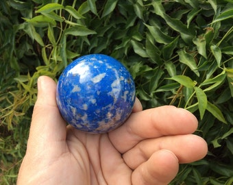 Lapis Lazuli Sphere 57mm comes with an acrylic stand