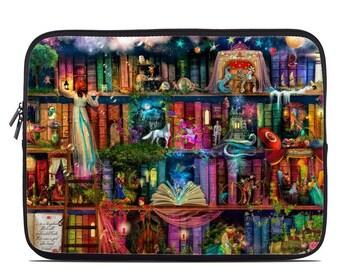 Laptop Sleeve Bag Case - Treasure Hunt by Aimee Stewart - Neoprene Padded - Fits MacBooks + More
