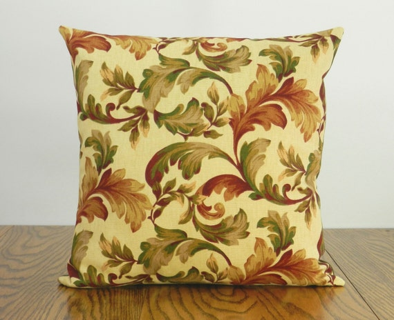 Olive green pillow sage green pillow burgundy pillow