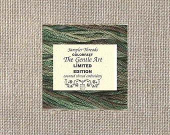 The Gentle Art - Limited Edition Floss - Cotton - Bermuda Grass - Five Yards - By the Skein