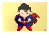 Superman, Phtographic Art Print, 6x4 inches