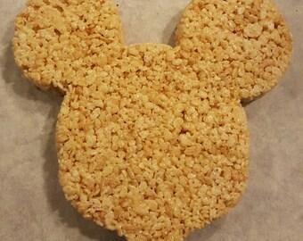 Large Disney Mickey Mouse Rice Krispie Treat HUGE Gigantic Oversized Fun Marshmallow