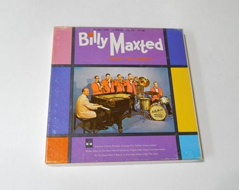 Billy Maxted Need It To Be Named 4 Track Reel to Reel Jazz Music