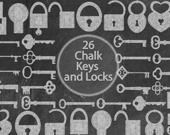 Chalk Keys and Locks