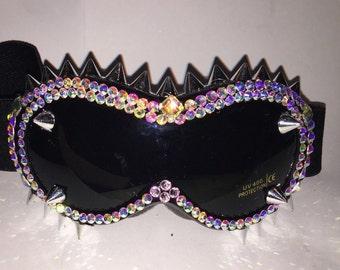 Burning Man goggles by Leiluna. Custom Colors