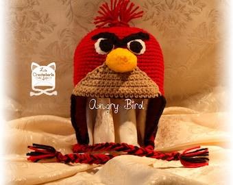 """Bonnet """"Angry Bird"""""""