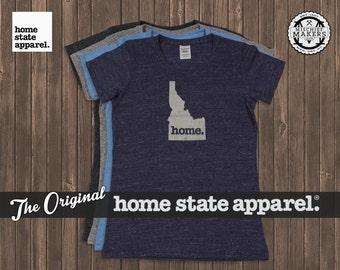 Idaho Home. T-shirt- Womens Cut