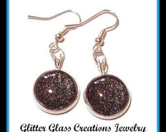 Dangly glass earrings - 5 options