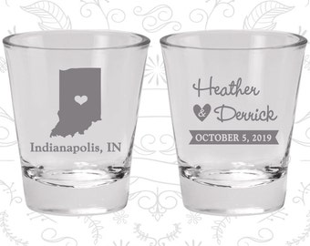 Indiana Shot Glass, Indiana Shot Glasses, Indiana Glass, Indiana Glasses, Indiana Glassware (113)
