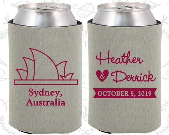 Wedding Gifts For Guests Australia : Wedding Gifts, Coolies, Destination Wedding Favors, Australia Favors ...