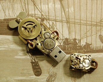 Steampunk 16 Gb USB Flash drive