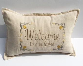 Welcome Spring Pillow