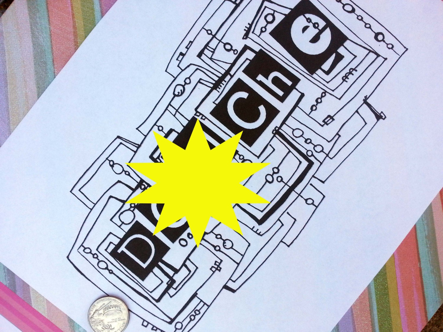 Printable coloring pages with cuss words -  Zoom