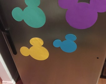 4 Disney Cruise Magnets for stateroom door