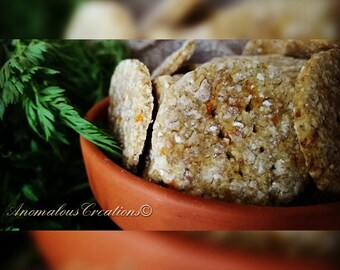 Beef and Carrot Cookies