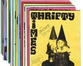 Thrifty Times - Issues 16-30 Gift Pack - A Zine about Thrifting