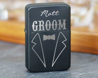 Personalized Engraved Groomsmen Lighter